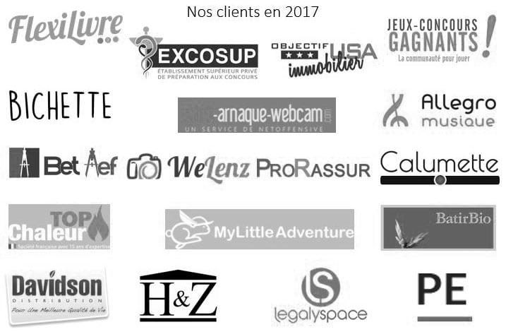 2017 - Nos clients de l'année - NB