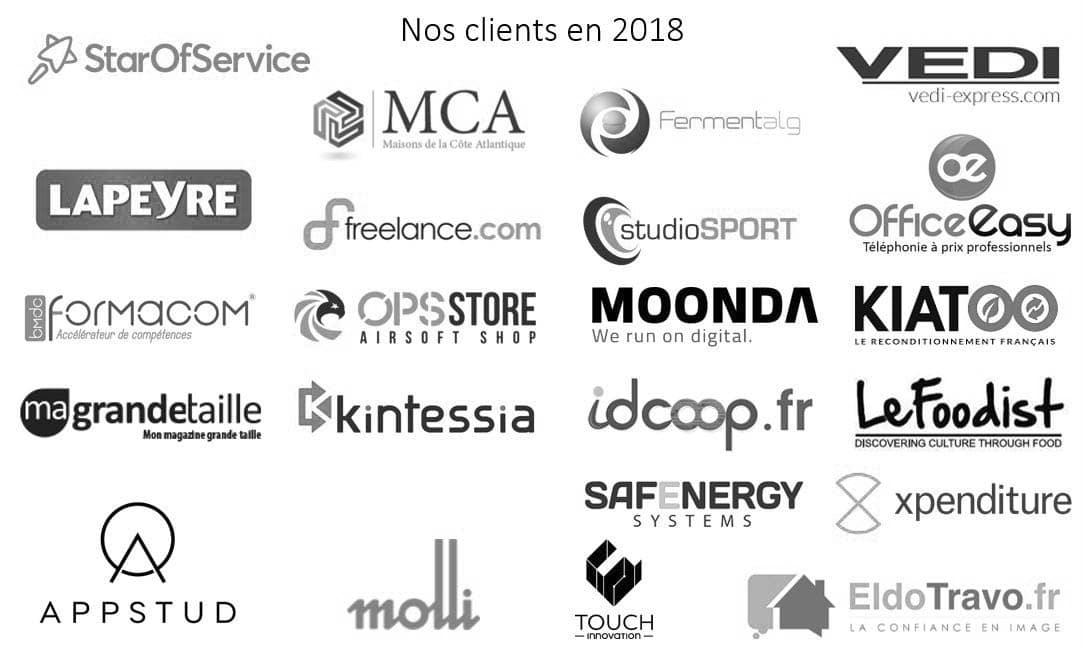 2018 - Nos clients de l'année - NB
