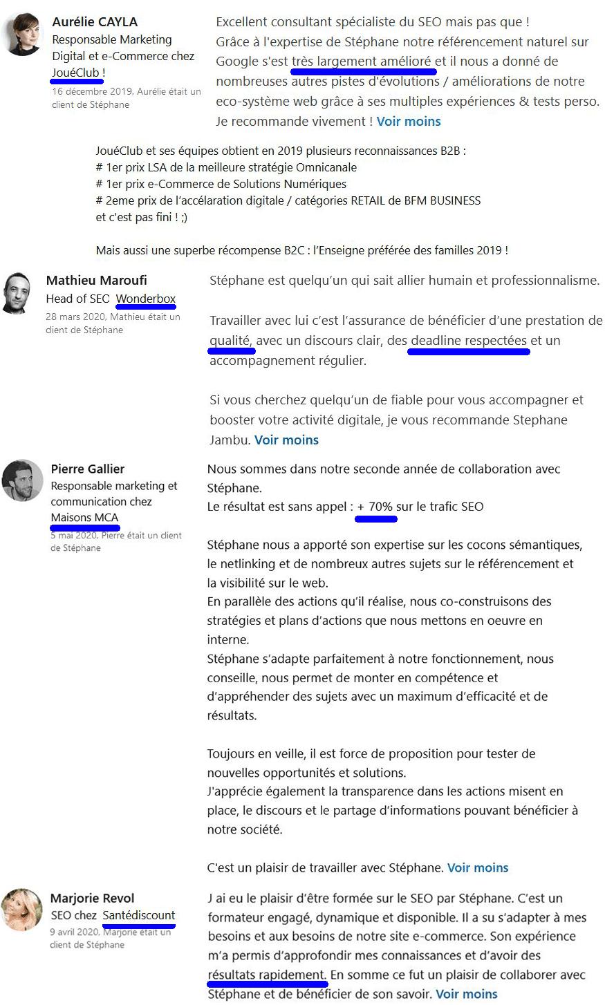 Hi-Commerce - Recommandations JouéClub - Wonderbox - MCA - SanteDiscount